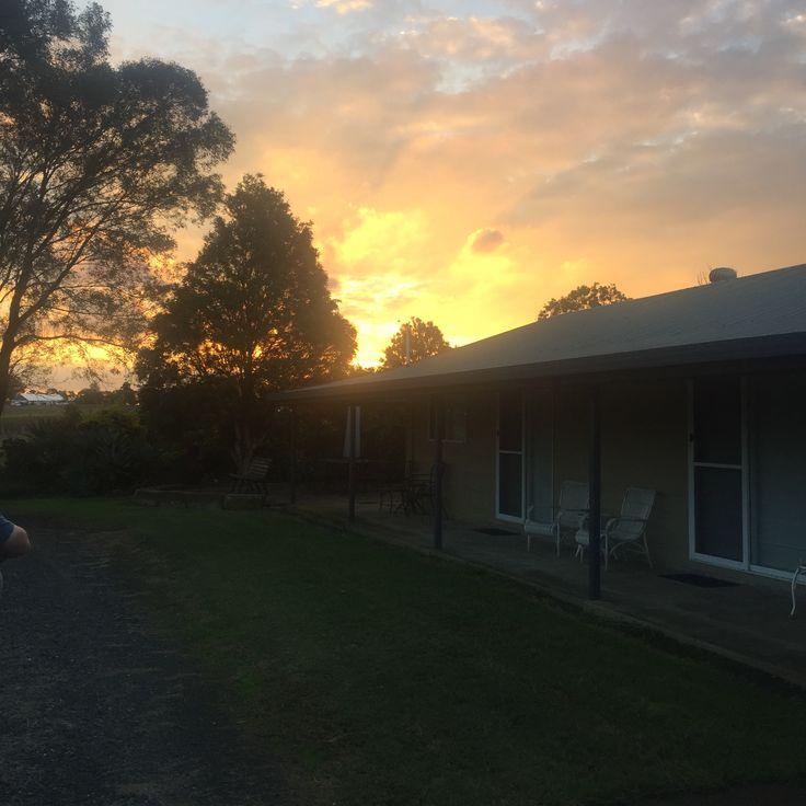 Sunset over Providence