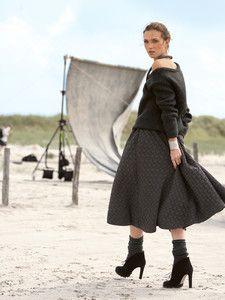 burda style: Damen - Röcke - Glockenröcke - Glockenrock - wadenlang