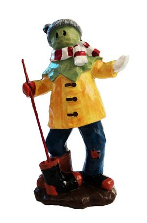 Newfoundland Art - Figurines by Lloyd Pretty