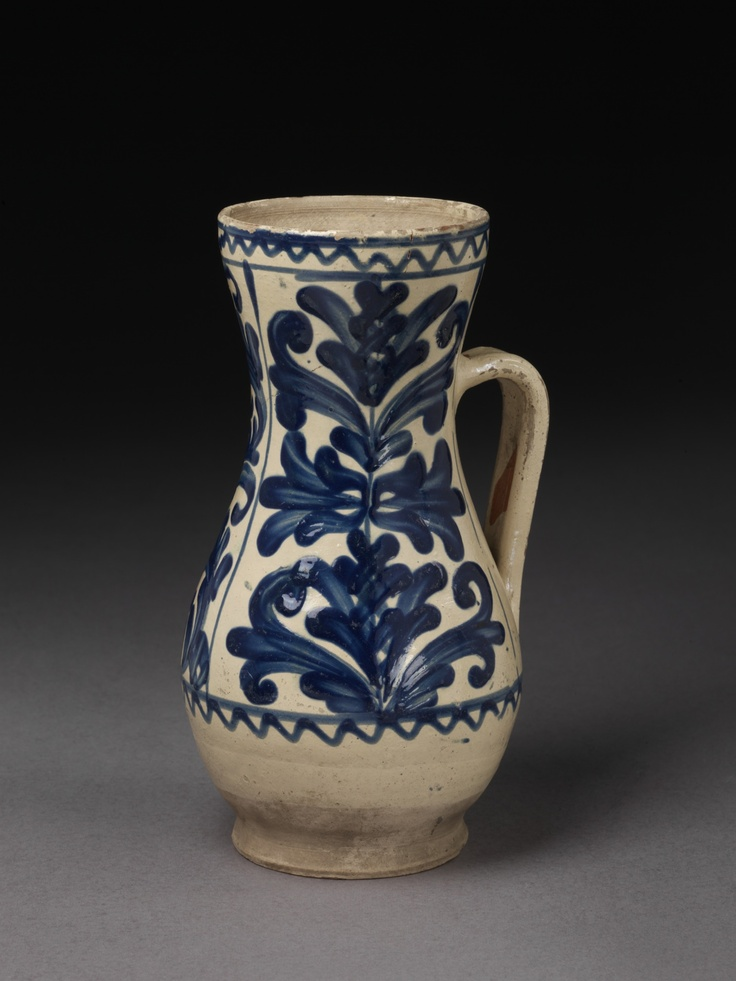 Jug from Kingdom of Hungary / Transylvania, ca. 1780.  Victoria & Albert Museum - London CIS:843-1901 Images may be reproduced only with written permission of V Images, vaimages@vam.ac.uk +44 (00 207 942 2479