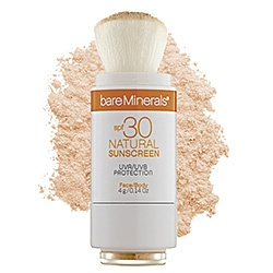 bareMinerals - SPF 30 Natural Sunscreen  #sephora  Spring is here and summer is next...  I use sunscreen on my left arm anytime I'm driving a long distance.  Make sure your make-up foundation has an spf factor as well.