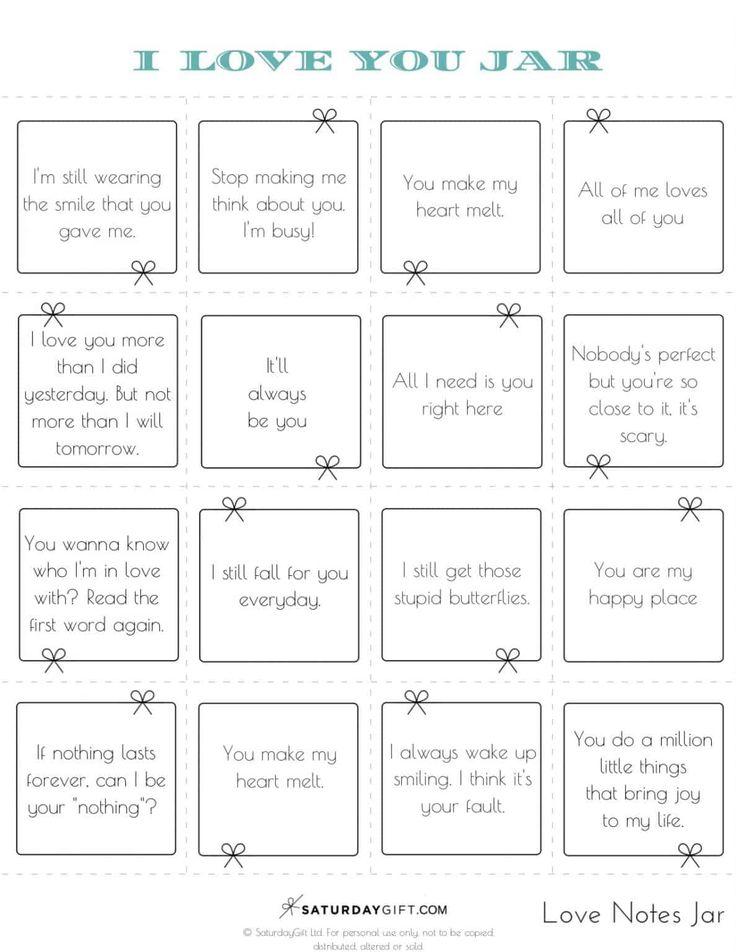 How to create a reasons why i love you jar pretty