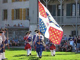 Lors des célébrations du 400e anniversaire de la ville de Québec