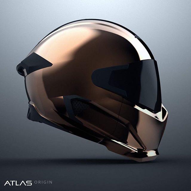 Ruroc Motorcycle Helmet