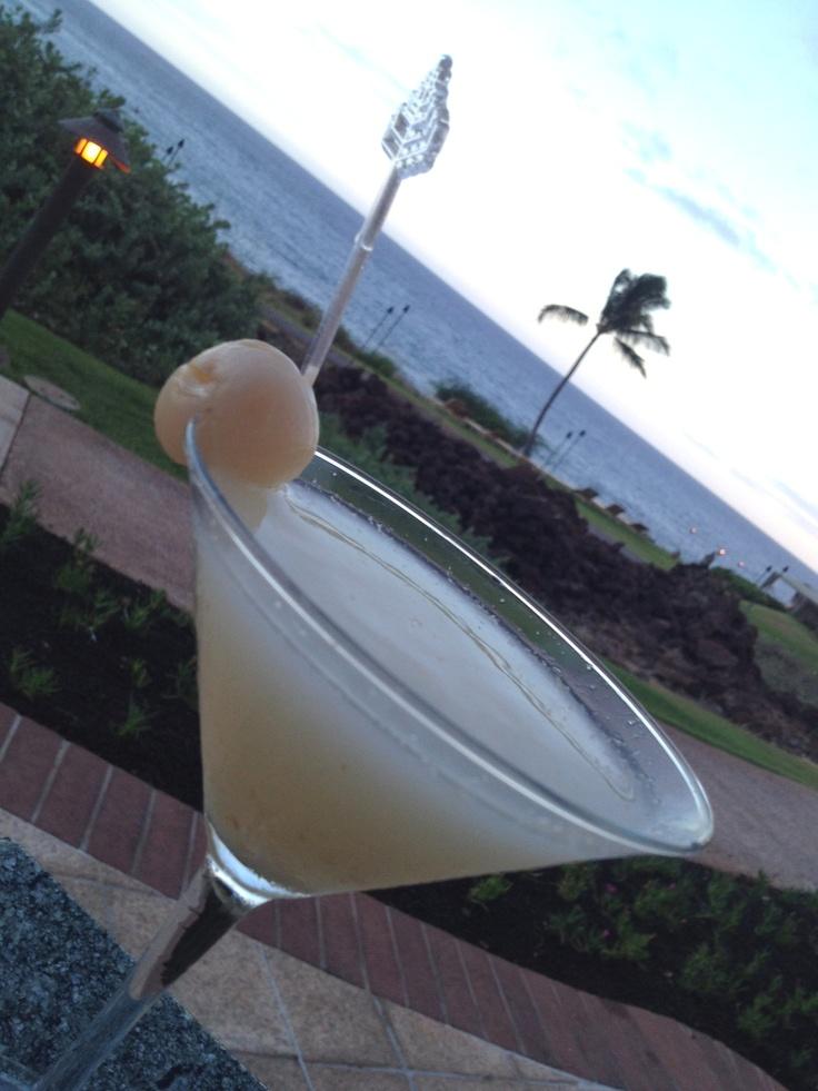 how to make fresh lychee martini