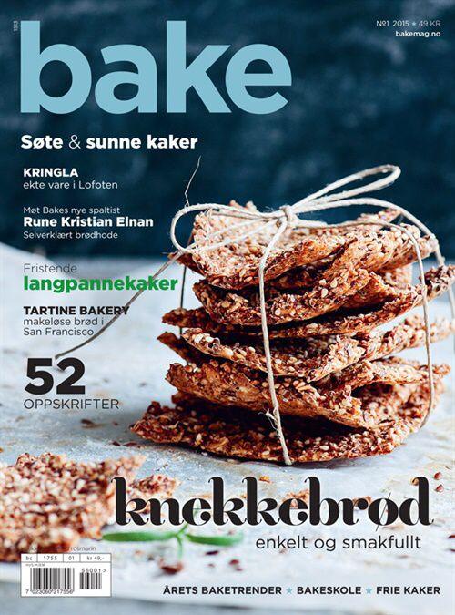 Bake skal inspirere, spre bakeglede og gi deg de nyeste trendene innen baking.