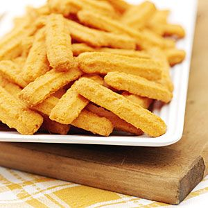 Cheddar Cheese Straws | MyRecipes.com