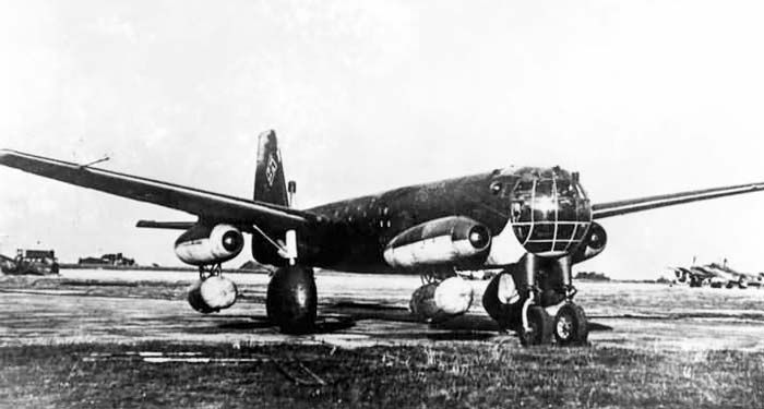 Junkers Ju.287.  The Junkers factory building the V2 and V3 was overrun by the Red Army in late April 1945; at that time, the V2 was 80% complete, and construction of the V3 had just begun. Wocke and his staff, along with the two incomplete prototypes, were taken to the Soviet Union.