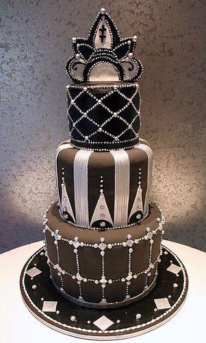 Торт в стиле Арт-деко