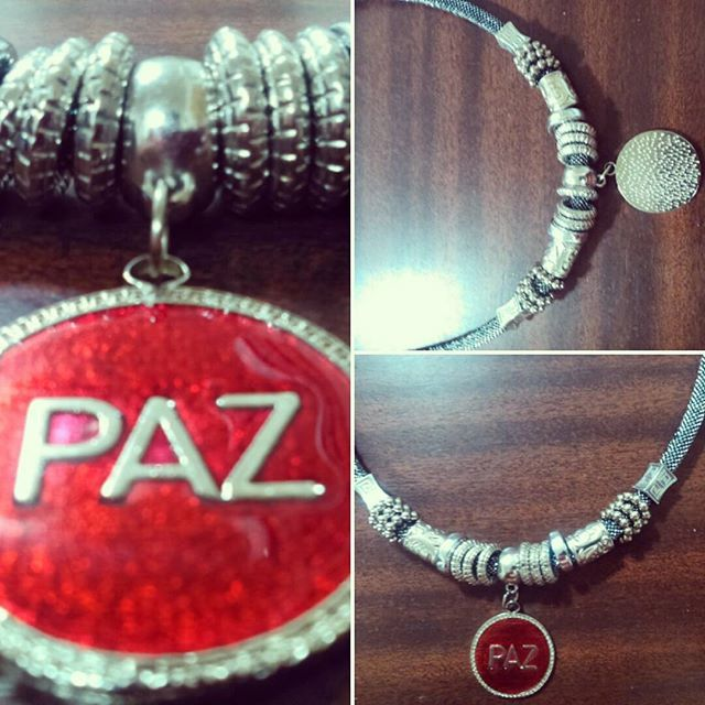 Collar PAZ.. Bello♥