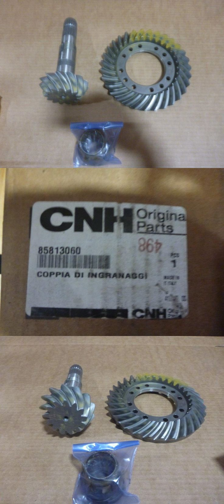 heavy equipment: Case New Holland P/N 85813060 Bevel Gear Set New Oem BUY IT NOW ONLY: $250.0