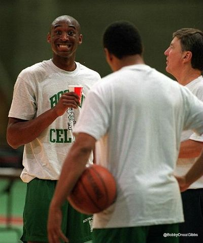 The Day Kobe Bryant Was A Celtic