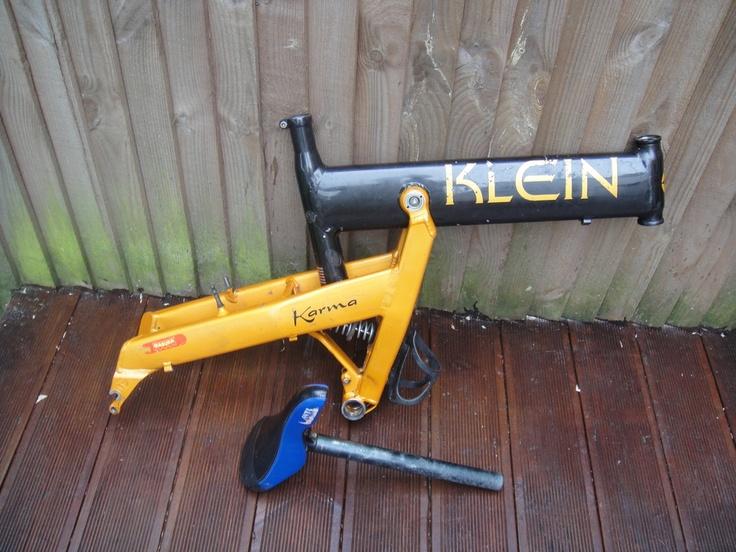 #Klein full suspension mountain bike frame Like, Repin, Share, Follow Me! Thanks!