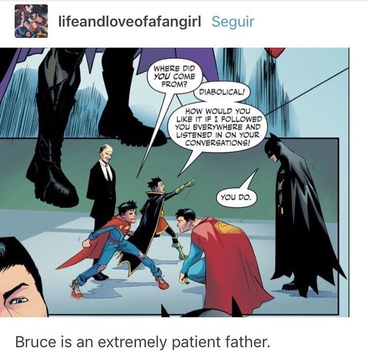 Of course he is. I mean, he has to be after dealing with Dick, Jason, and Tim in the past, Damian should be a (slightly bigger) piece of cake.