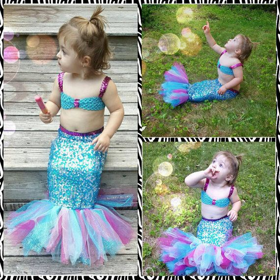 sequin mermaid photo u0026 costume set infantgirls bubble guppies costume set walking sequin mermaid tail customize with add colors