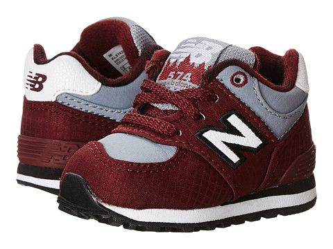 New Balance Kids 574 (Infant/Toddler) Burgundy - Zappos.com Free Shipping