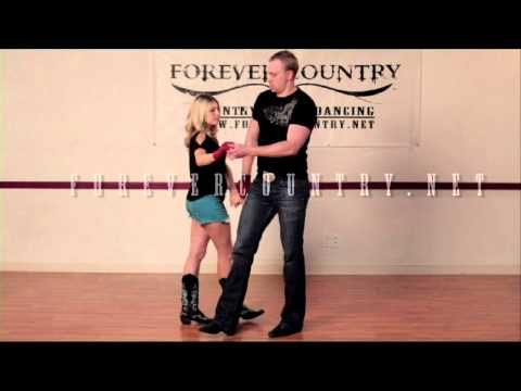 ▶ Instructional Country Swing Dancing - Pretzel - YouTube