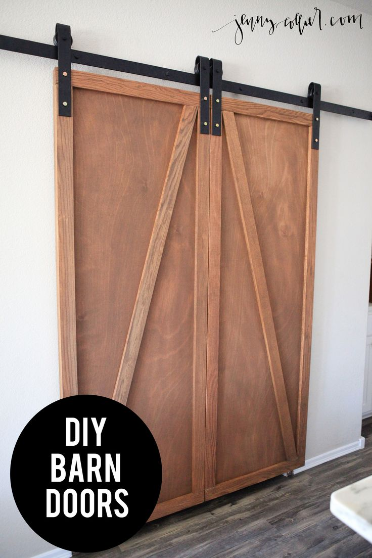 My husband recently built me barn doors to replace our pantry doors in the  kitchen. 1000  ideas about Barn Doors Lowes on Pinterest   Sliding doors