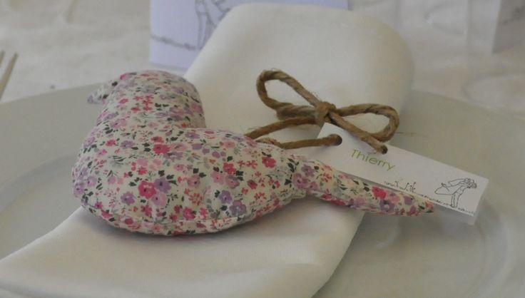 ♥ Mariage DIY : Les oiseaux sachet de lavande ♥ Un cadeau de remerciement original pour vos invités | la deco de Paul & Lola