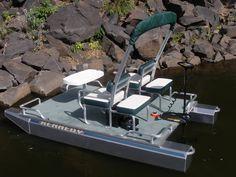 Mini Pontoon Boats | Small Pontoon Boats For Sale | Compact ...