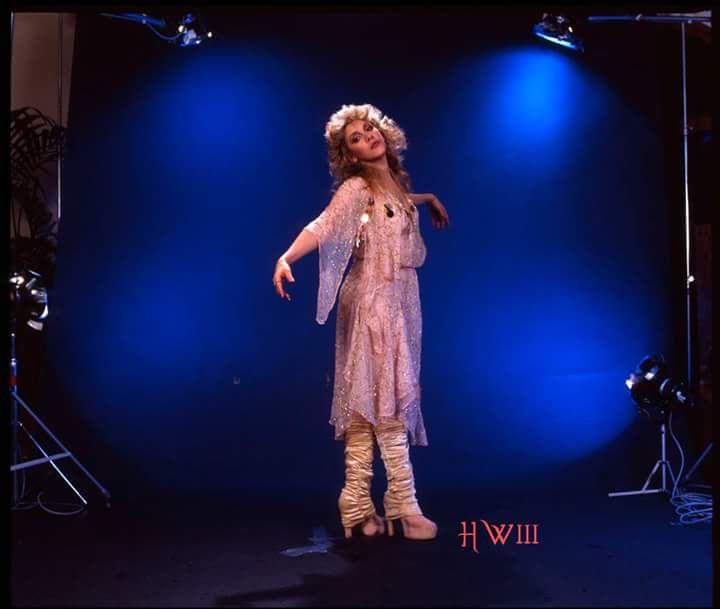 a lovely photo of Stevie   ~ ☆♥❤♥☆ ~     taken during the photo shoot for her 1983 'The Wild Heart' album; photo taken by Herbert W. Worthington III  ~  https://en.wikipedia.org/wiki/The_Wild_Heart_(album)