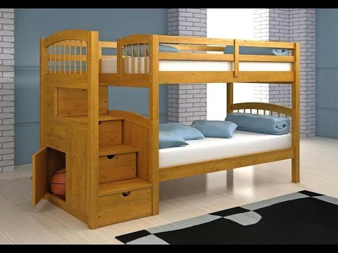 bunk bed plansloft bed plans step by step how to build a bunk - Hausgemachte Etagenbetten Mit Rutsche