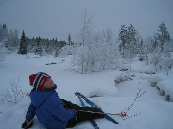 Norwegians are born with skis on their feet!  Winter in Southern Norway are perfect for cross-country-skiing, this is from Høgås/Gautestad in Evje.  Photo: Elisabeth Høibo©Visit Southern Norway