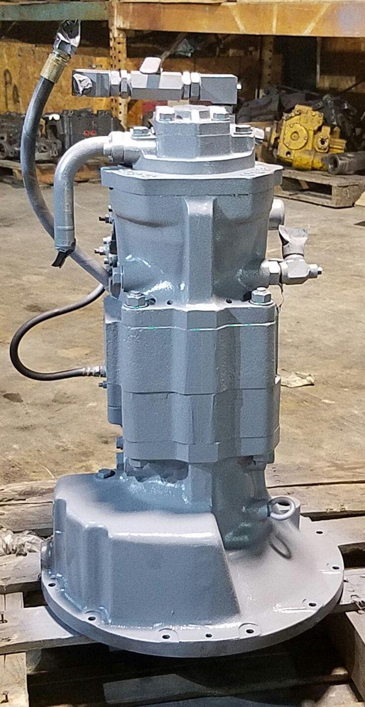 Komatsu Excavator PW210 Hydrostatic Main Pump Repair