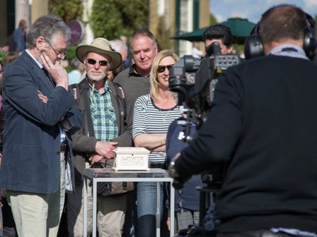 Expert David Battie is about to reveal all...How much is it worth? You'll have to watch the antiques roadshow at Polesden Lacey on the BBC later in the year to find out. © Eddie Hyde