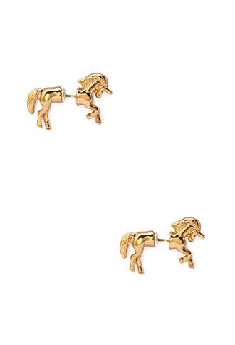 Unicorn Earrings | FOREVER21 - 1056095086