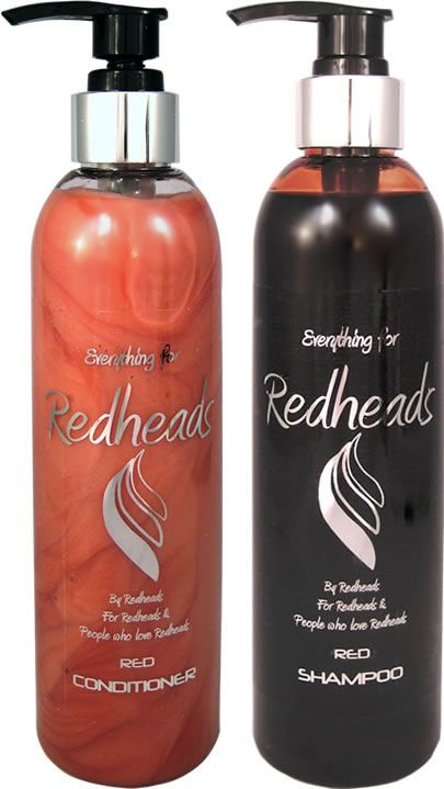 This luxurious Red Shampoo and conditioner for Red Hair contains a colourant to enhance natural and dyed red hair by depositing colour.