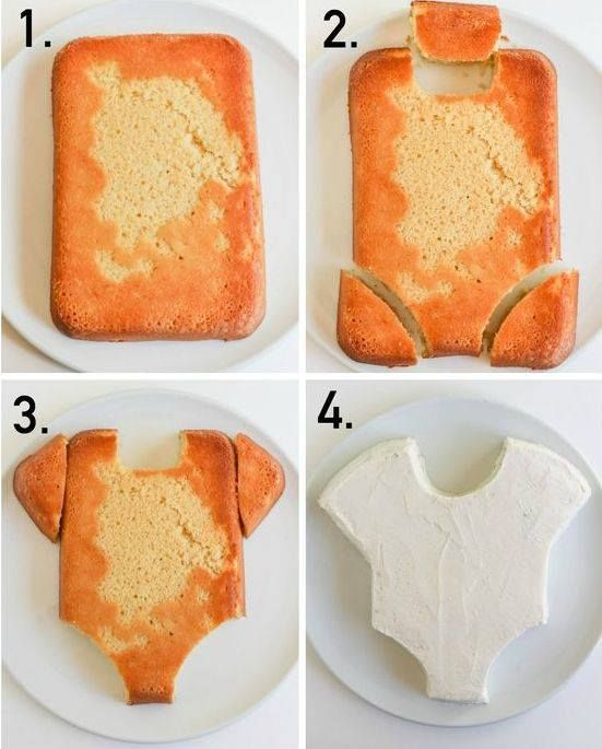 How to make a onsie cake