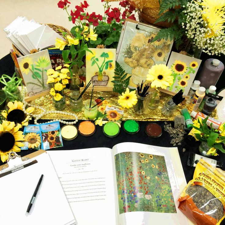 """""""The Sunflowers"""" freshly blogged! A detailed post about our Mother's Day gifts. Posted by Joanne Marie Babalis."""