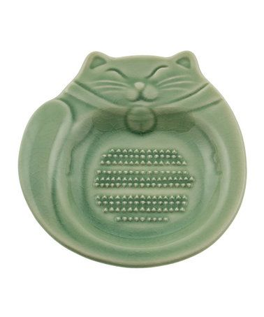 Look what I found on #zulily! Jade Green Cat Grater #zulilyfinds