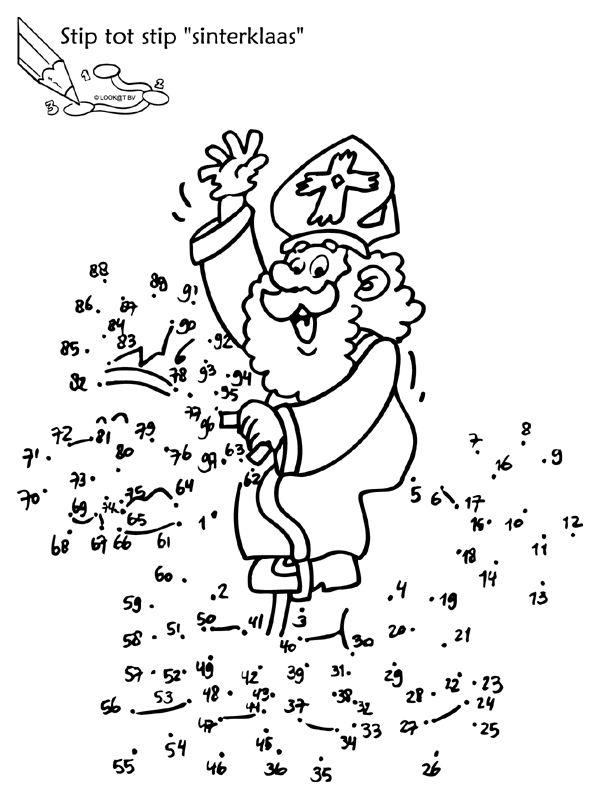 * Stip tot stip Sinterklaas!