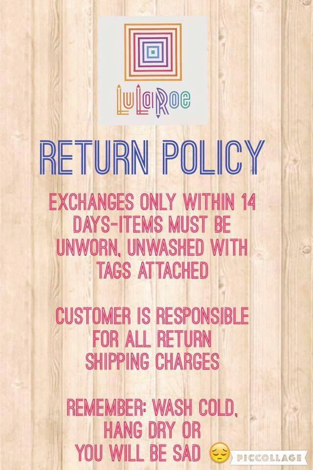 267 best LulaRoe images on Pinterest Style, Interactive - refund policy