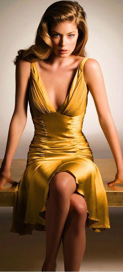 Vestido Amarelo - Adorei !!!!!!!