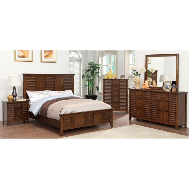 furniture setting bedroom. furniture of america tyrenia walnut finish bedroom set queen brown setting e