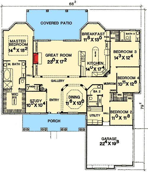 Plan 31058d rustic hill country design galleries and for Hill country flooring