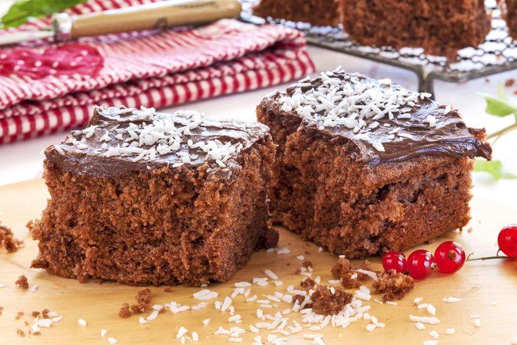 Sjokoladekake i stor langpanne som alle vil like!