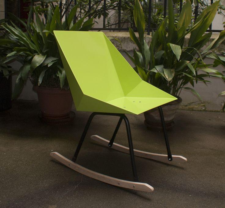 #rocking Chair Shi Rak Revisite Le Traditionnel Rocking Chair En Version  Moderne