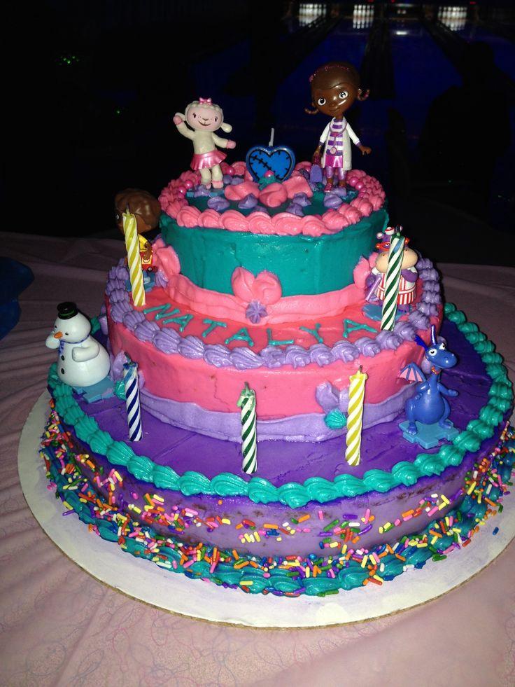 Doc McStuffins 3 tier cake Cake decorating Pinterest ...