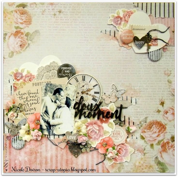 DT project for Scraps of Elegance 'Be Mine' kit, inspired by the February challenges at Berry71bleu and Cuts2luv! See all the details at http://scrap-utopia.blogspot.ca/2017/02/doux-moment-scraps-of-elegance-dt-be.html #scraputopia #scrapbooking #scrapsofelegancekits #soe #cuts2luv #berry71bleu