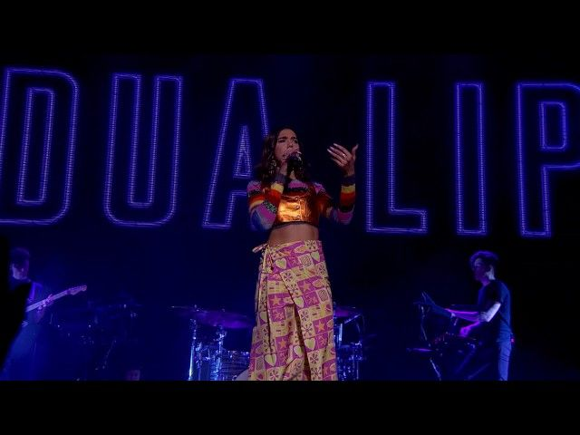 Dua Lipa 'Be The One' Live from the NME Awards 2017 | lodynt.com |لودي نت فيديو شير