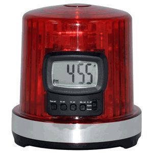 Fan Fever 'The Goal Light' Alarm Clock- very good for the #hockey player who can't wake up in the morning