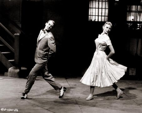 Bob Fosse & Janet Leigh (My Sister Eileen) 1955