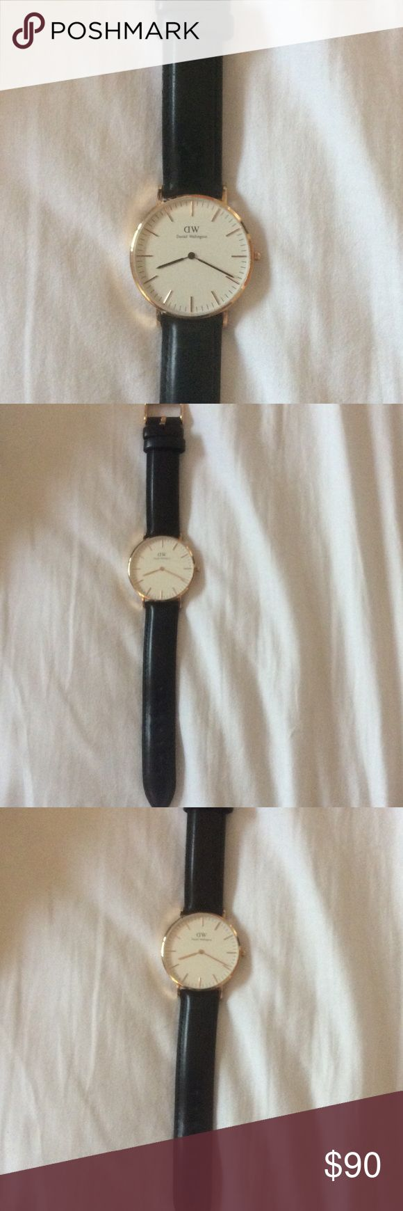 Authentic Daniel Wellington watch ❤️❤️ Gently used twice. Price firm Daniel Wellington Accessories Watches