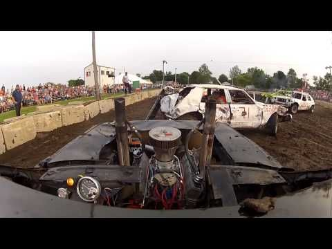 ▶ 700HP!! DEMOLITION DERBY CAR!! HD! REMIX! - YouTube