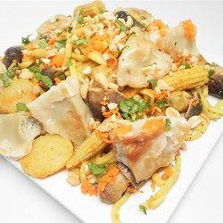 Potsticker Salad - Allrecipes.com