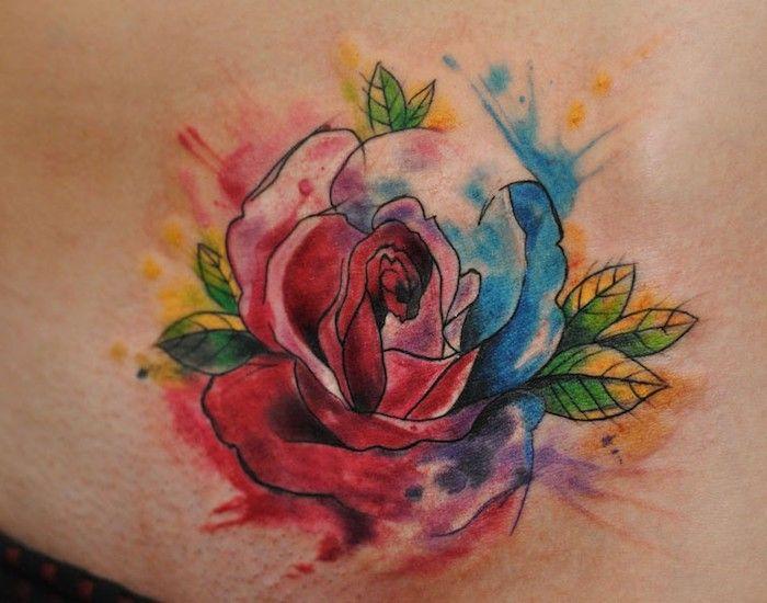 die besten 25 wasserfarben tattoo ideen auf pinterest wasserfarben aquarelle und. Black Bedroom Furniture Sets. Home Design Ideas